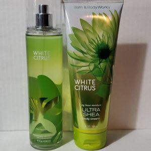 Bath & Body Works White Citrus set